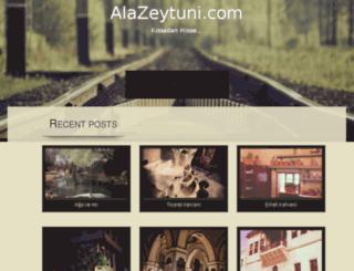 alazeytuni.com screenshot