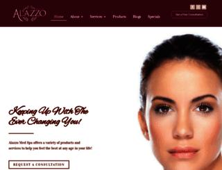 alazzospa.com screenshot