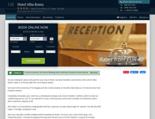 alba-rome.hotel-rez.com screenshot