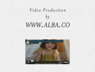 alba.co screenshot