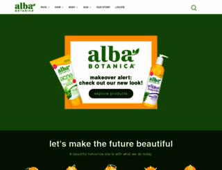 albabotanica.com screenshot