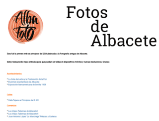 albacete-fotos.blogspot.com screenshot