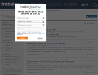 albacete.trabajos.com screenshot
