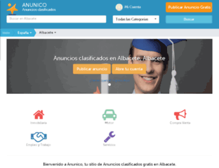 albaceteciudad.anunico.es screenshot