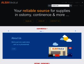 albamedical.ca screenshot