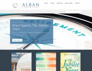 alban.org screenshot