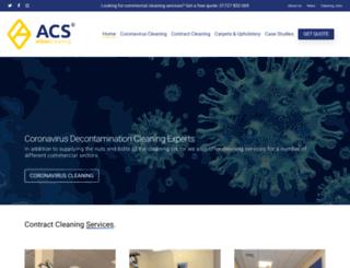 albancleaning.com screenshot