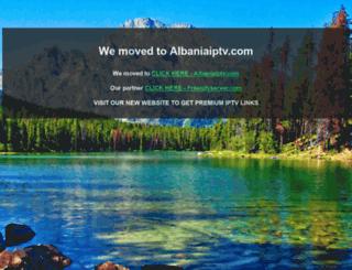 albaniaiptv.net screenshot
