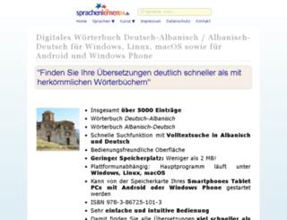 albanisch-woerterbuch.online-media-world24.de screenshot