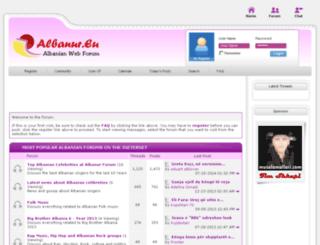 albanur.eu screenshot