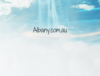 albany.com.au screenshot