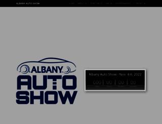 albanyautoshows.com screenshot