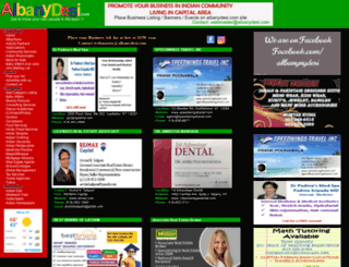 albanydesi.com screenshot
