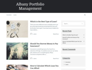 albanyportfoliomanagement.co.uk screenshot
