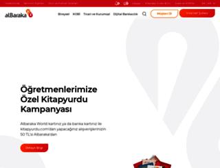 albarakaturk.com.tr screenshot
