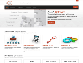 albasoft.com screenshot