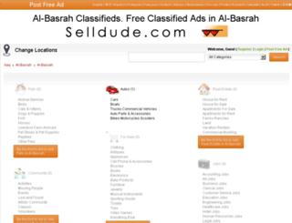 albasrah.selldude.com screenshot