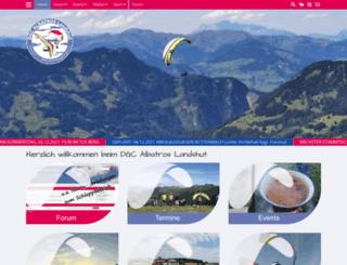 albatros-landshut.de screenshot