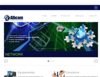 albcomautomacao.com.br screenshot