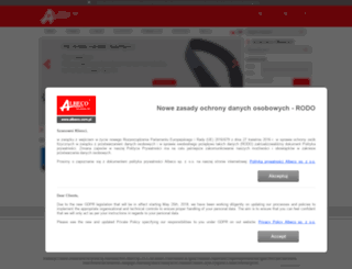 albeco.com.pl screenshot