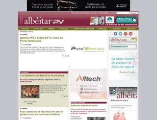 albeitar.portalveterinaria.com screenshot