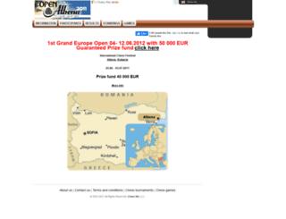 albena-2011.chessmix.com screenshot