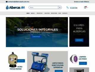 albercasah.com.mx screenshot