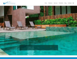 albercasencancun.com screenshot