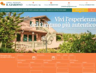 albergoilgiardino.com screenshot