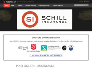 alberni.ca screenshot