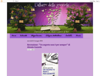 alberodellegocciole.blogspot.fr screenshot