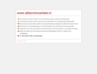 alberoincantato.it screenshot