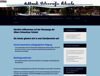 albert-schweitzer-schule.hamburg.de screenshot