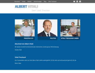 albert-vitali.ch screenshot