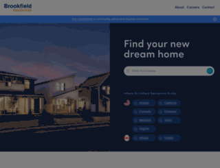 alberta.brookfieldresidential.com screenshot