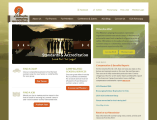 albertacamping.com screenshot