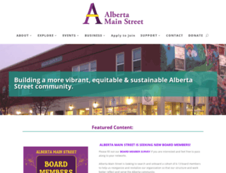 albertamainst.org screenshot