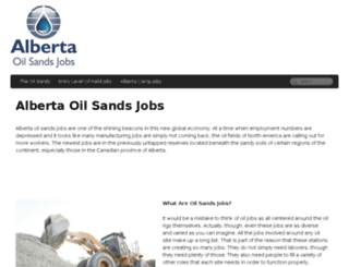 albertaoilsandsjobs.net screenshot