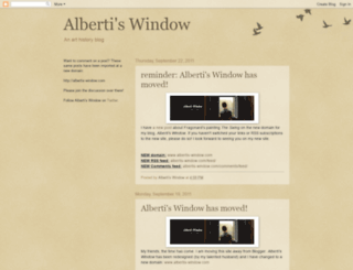 albertis-window.blogspot.com screenshot