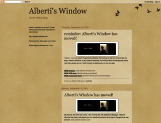 albertis-window.blogspot.com screenshot