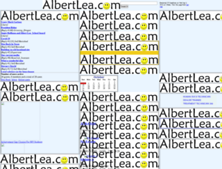 albertlea.com screenshot