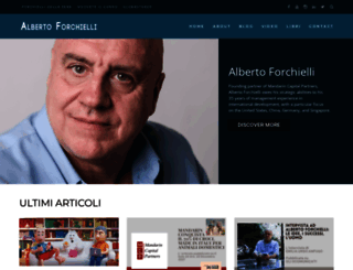 albertoforchielli.com screenshot