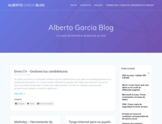 albertogarcia.net screenshot