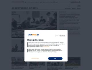 albertslund.lokalavisen.dk screenshot