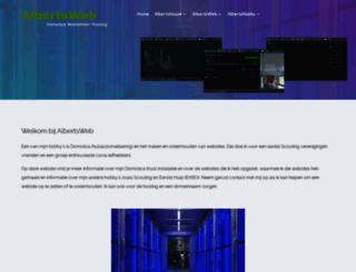 albertsweb.nl screenshot