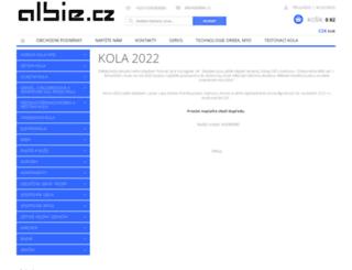albie.cz screenshot