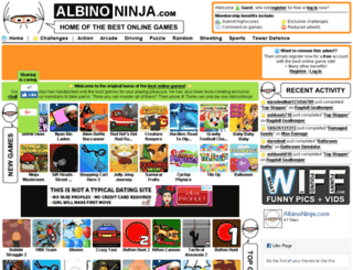 albinoninja.com screenshot