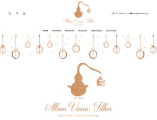albinovieira.com screenshot
