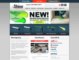 albioneng.com screenshot