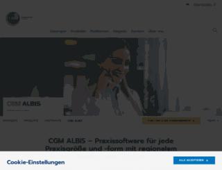 albis.de screenshot